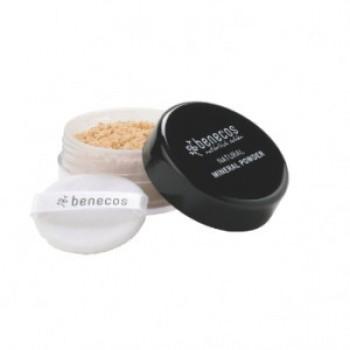 "Benecos Natūrali mineralinė pudra ""Sand"", 10 g"