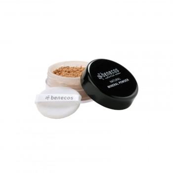 """Benecos Natūrali mineralinė pudra """"Golden hazelnut"""", 10 g"""