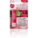 Lavera Natūralus avietinis lūpų balzamas, 4,5 g