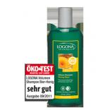 Logona Šampūnas su medumi ir alumi silpniems ir ploniems plaukams, 250 ml