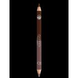 """Logona Natūralus dvigubas akių pieštukas """"Rosewood"""" Nr. 5, 1,38 g"""