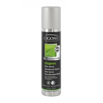 Logona Purškiamas dezodorantas vyrams, 100 ml