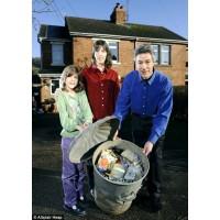 Ekologiška šeima – tik vienas šiukšlių maišas per metus